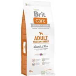 BRIT CARE 12kg ADULT MEDIUM LAMB&RICE