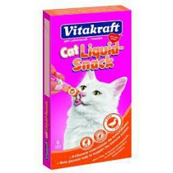 VIT-CAT LIQUID SNACK 6szt KACZKA PRZYSMAK DLA KOTA