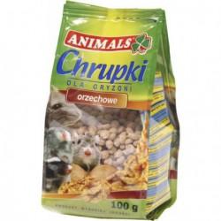 ANIMALS CHRUPKI ORZECHOWE 100G