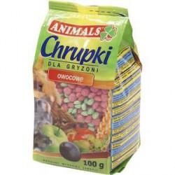 ANIMALS CHRUPKI OWOCOWE 100G