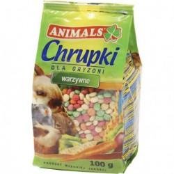 ANIMALS CHRUPKI WARZYWNE 100G