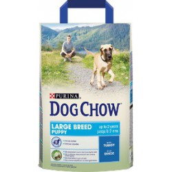 PURINA DOG CHOW 2,5kg PUPPY LARGR BREED INDYK
