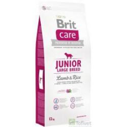 BRIT CARE 12kg JUNIOR LARGE LAMB&RICE