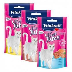 VITAKRAFT CAT YUMS 40G-ŁOSOŚ