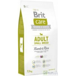 BRIT CARE 7,5kg ADULT SMALL