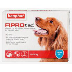 BEAP.FIPROTEC M DOG 1*134mg 10-20