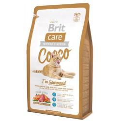 BRIT CARE CAT 2kg COCCO GURMAND