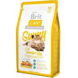 BRIT CARE CAT 400g BEAUTIFUL HAIR SUNNY