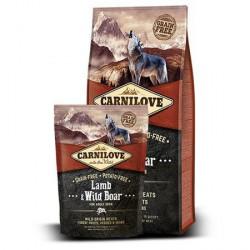 CARNILOVE 12KG ADULT LAMB&WILD BOAR