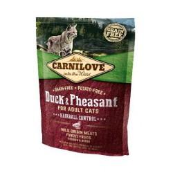 CARNILOVE CAT 0,4KG DUCK&PHEASANT HAIRBALL CONTROL