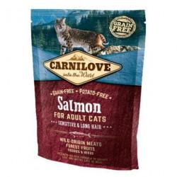 CARNILOVE CAT 0,4KG SALMON SENSITIVE&LONG HAIR
