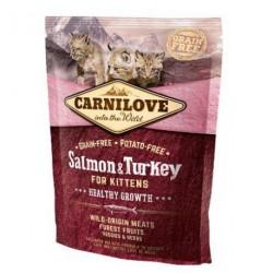 CARNILOVE CAT 0,4KG KITTEN SALMON&TURKEY