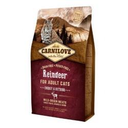 CARNILOVE CAT 2KG REINDEER ENERGY&OUTDOOR