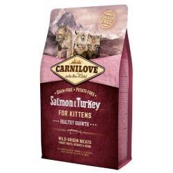 CARNILOVE CAT 2KG KITTEN SALMON&TURKEY