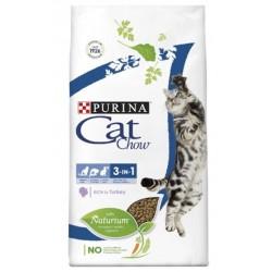PURINA CAT CHOW 15kg FELINE 3in1