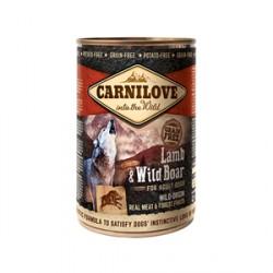 CARNILOVE 400G WILD MEAT LAMB&WILD BOAR puszka dla psa