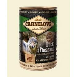 CARNILOVE 400G WILD MEAT DUCK&PHEASANT puszka dla psa