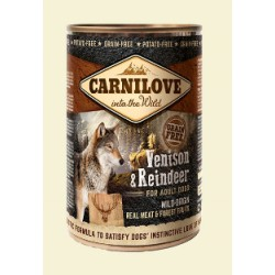 CARNILOVE 400G WILD MEAT VENISON&REINDEE puszka dla psa