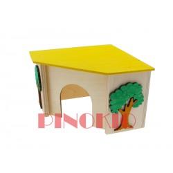 PINO-05 DOMEK NAROŻNY 16X16X10.5