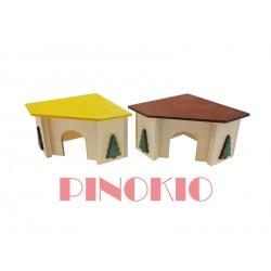 PINO-03 DOMEK NAROŻNY 11X11X7,5cm