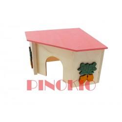 PINO-04 DOMEK NAROŻNY 14,5X14X9cm.