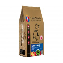 LINCOLN 3kg ADULT LAMB RICE