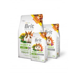 BRIT ANIMALS 1,5KG RABBIT ADULT COMPLETE