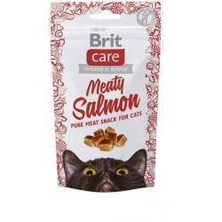 BRIT CARE SNACK CAT MEATY SALMON 50G
