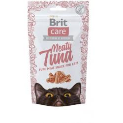 BRIT CARE SNACK CAT MEATY TUNA 50G