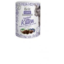 BRIT CARE SNACK CAT SUPERFRUITS KITTEN 100G