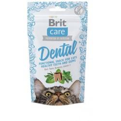 BRIT CARE SNACK CAT DENTAL 50G