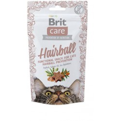 BRIT CARE SNACK CAT HAIRBALL 50G