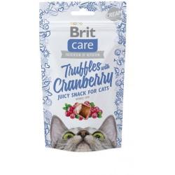BRIT CARE SNACK CAT TRUFFLES CRANBER 50G 50G