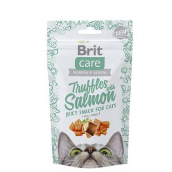 BRIT CARE SNACK CAT TRUFFLES SALMON 50G