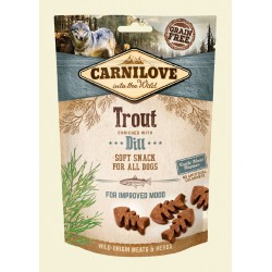 CARNILOVE SNACK DOG 200G TROUT+DILL SOFT