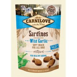CARNILOVE SNACK DOG 200G SARDINES+GARLIC SOFT