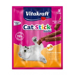 VITARAFT CAT STICK MINI 3SZT Z INDYKIEM