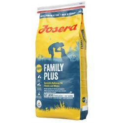 JOSERA PIES 15kg FAMILY PLUS Z ŁOSOSIEM SUKI KARMIĄCE+SZCZENIAKI