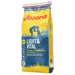 JOSERA PIES 15kg LIGHT&VITAL