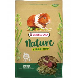 PRESTIGE-NATURE CAVIA FIBREFOOD 1kg NOWA POKARM DLA ŚWINKI LIGHT/SENSITIVE