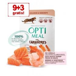 OPTIMEAL 85g (9+3) ŁOSOŚ/KREWETKI