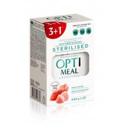 OPTIMEAL ZESTAW-KOT INDYK/KURCZAK 3+1 sterylizowany