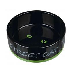 MISKA CERAMICZNA DLA KOTA STREET CAT 0.3 l/o 12cm