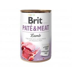 BRIT-PATE&MEAT LAMB 400g KONSERWA