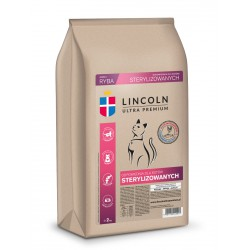 LINCOLN KOT 7,5kg STERYLIZOWANY DRÓB I RYBA