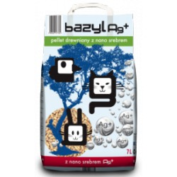 BAZYL 7,5l PELLET DREWNIANY AG+