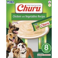 INABA CHURU DOG CHICKEN VEGETABLE 160g