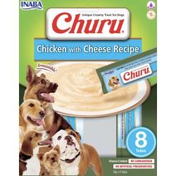 INABA CHURU DOG CHICKEN CHEESE 160g