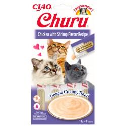 INABA CHURU CAT CHICKEN SHRIMP 56g